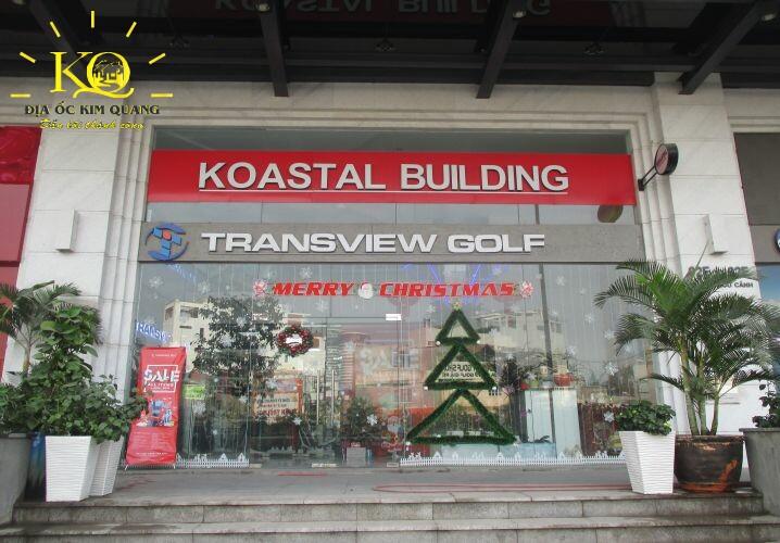 Phía trước tòa nhà SGP Koastal
