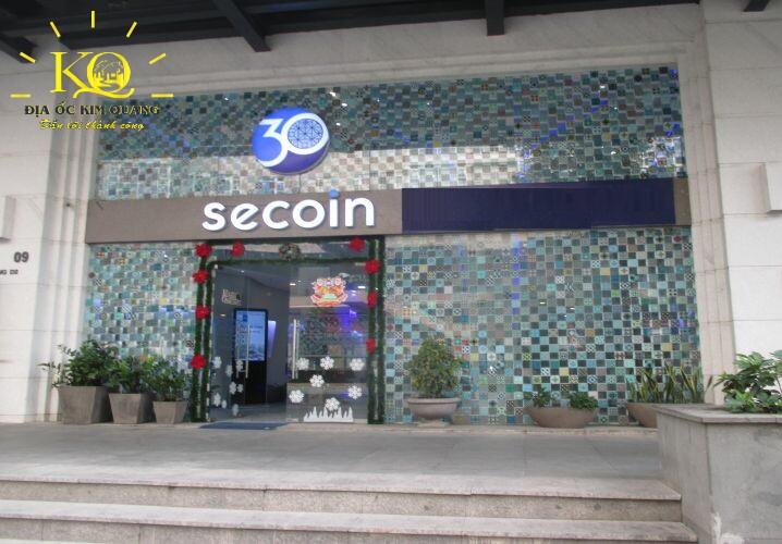 Phía trước tòa nhà SGP Secoin