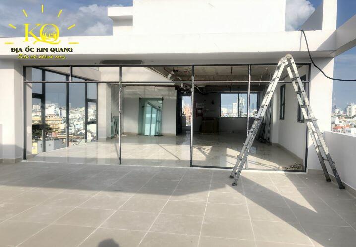 Cho thuê văn phòng quận Bình Thạnh Swin Tower tầng sân thượng thoáng Địa ốc Kim Quang