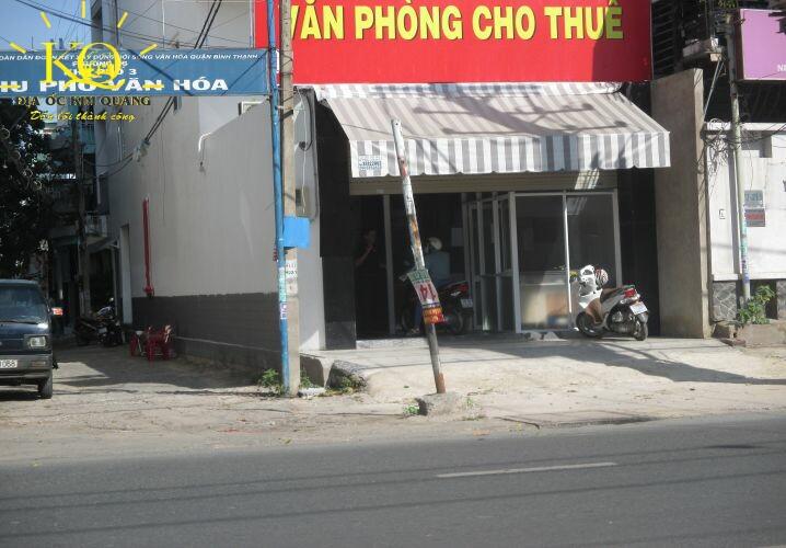 Phía trước tòa nhà Winhome QL 13