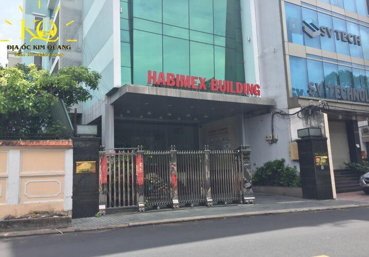 Phía trước tòa nhà Habimex Building