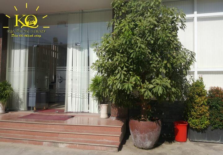 Cho thuê văn phòng quận Tân Bình Phúc An Building cây xanh  Địa ốc Kim Quang