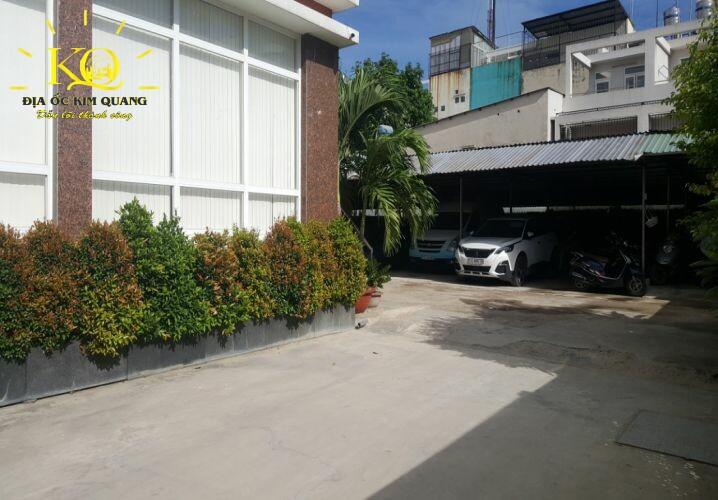 Cho thuê văn phòng quận Tân Bình Phúc An Building khu vực đỗ xe ôtô  Địa ốc Kim Quang