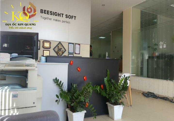 Cho thuê văn phòng quận Tân Bình Phúc An Building khu vực lễ tân  Địa ốc Kim Quang