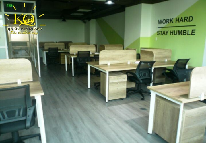 Khu vực co-working space tại APT Office