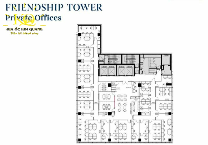Layout chi tiết tại Friendship Tower