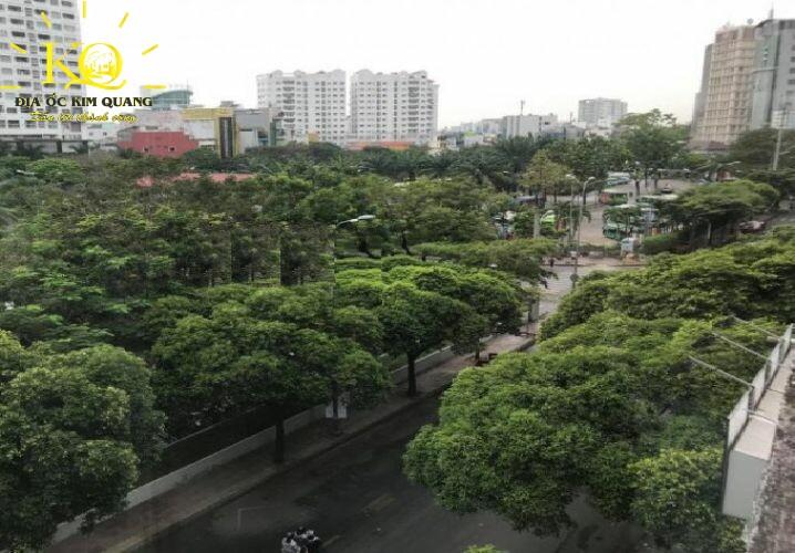 View từ tòa nhà Anpha Lê Lai