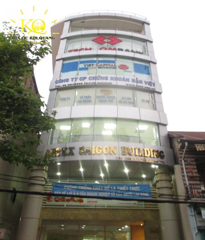 Bên ngoài tòa nhà Artex Saigon Building