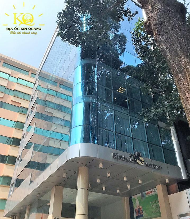 Bên ngoài tòa nhà Dakao Office Center
