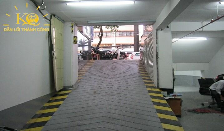 Hầm gửi xe tòa nhà Dakao Office Center