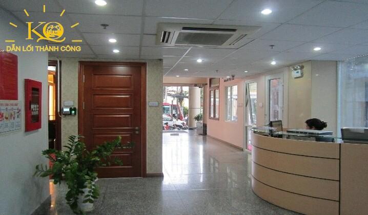 Quầy lễ tân tòa nhà Dakao Office Center