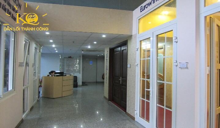 Sảnh tầng trệt tòa nhà Dakao Office Center