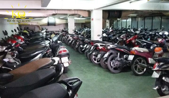 Hầm gửi xe tòa nhà Mai Sơn building