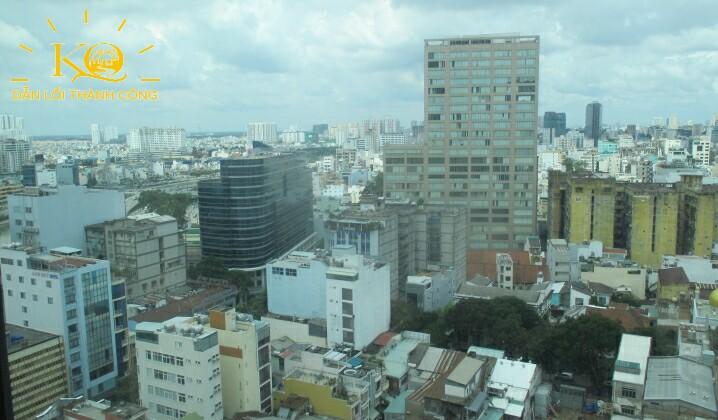 Hướng view từ Ruby Tower