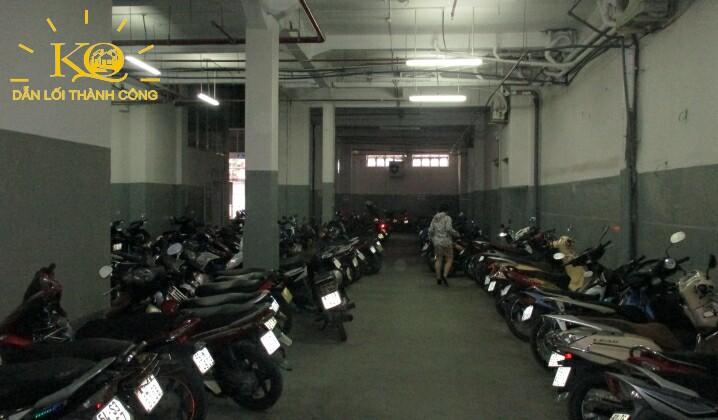 Hầm để xe tòa nhà Thanh Niên Building