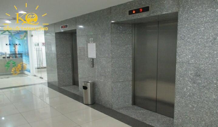 Thang máy tại TMS Building