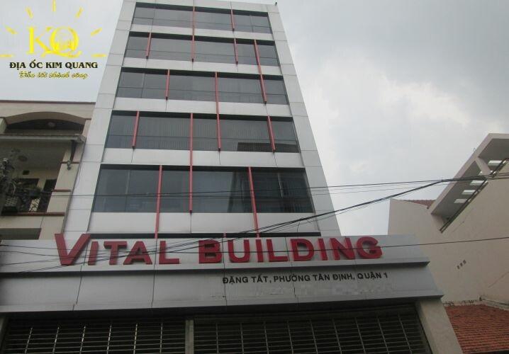 Bên ngoài tòa nhà Vital Building