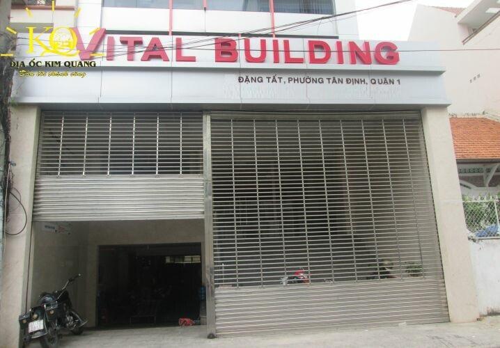 Phía trước tòa nhà Vital Building