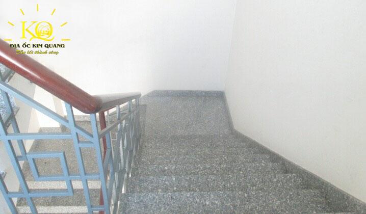 Lối thang bộ tại tòa nhà Comeco Building