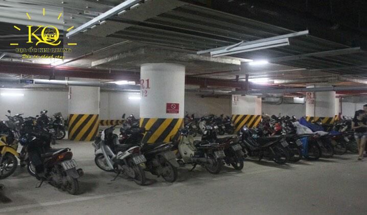Hầm để xe tòa nhà Minh Long Tower
