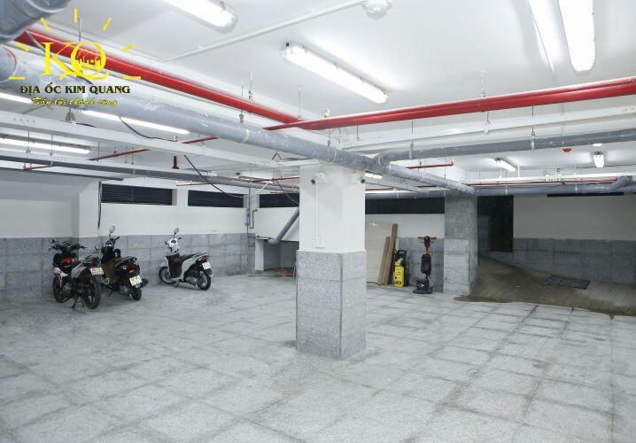 Hầm gửi xe tòa nhà MHPC Building