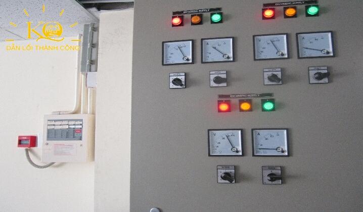 Hệ thống điện tại tòa nhà NGE Building