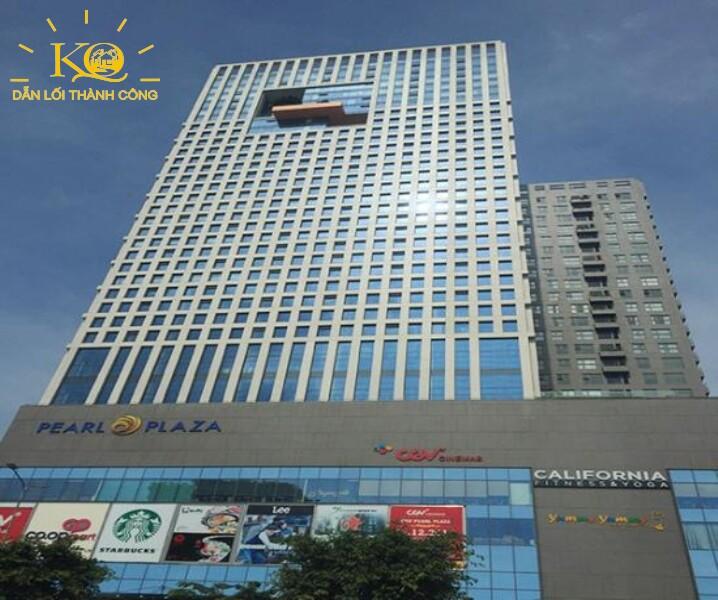 Địa ốc Kim Quang  Cho thuê văn phòng quận Bình Thạnh Pearl Plaza hình chụp toàn cảnh