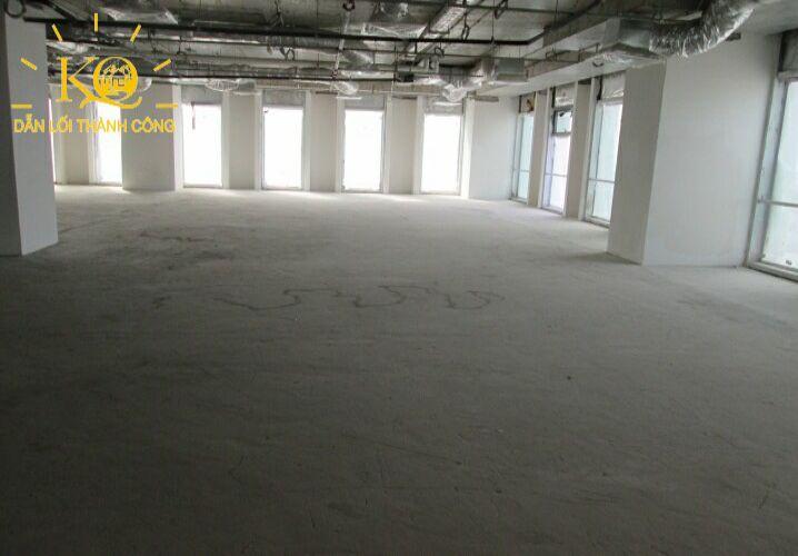 Địa ốc Kim Quang  Cho thuê văn phòng quận Bình Thạnh Pearl Plaza diện tích trống bên trong