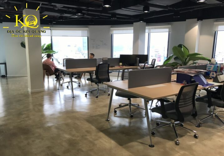 Khu vực co-working space SGP Kafnu