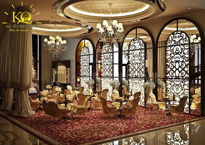 Phòng trà tại tòa nhà Terra Royal