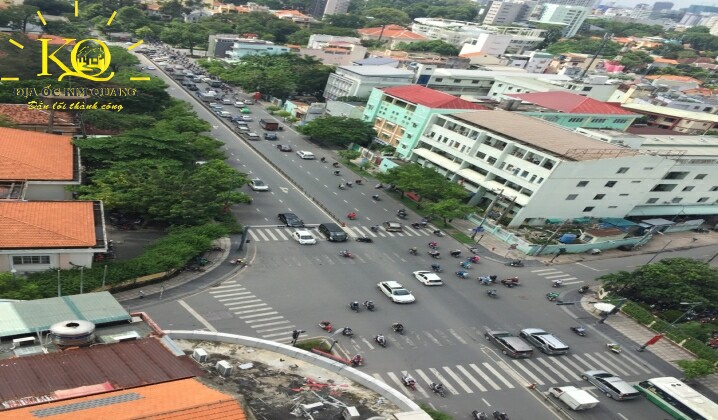 View từ tòa nhà The Galleria Office Building