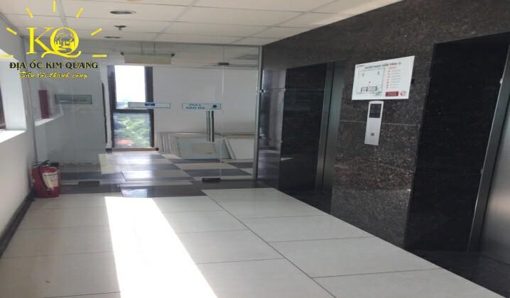 Thang máy tại tòa nhà The Galleria Office Building
