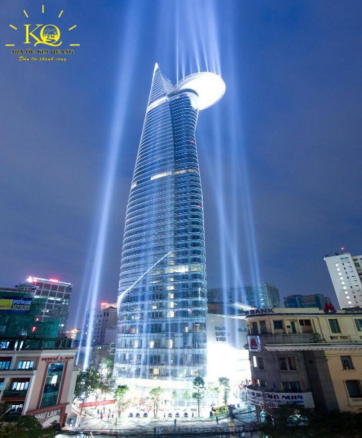 Bên ngoài tòa nhà hạng a Bitexco Financial Tower