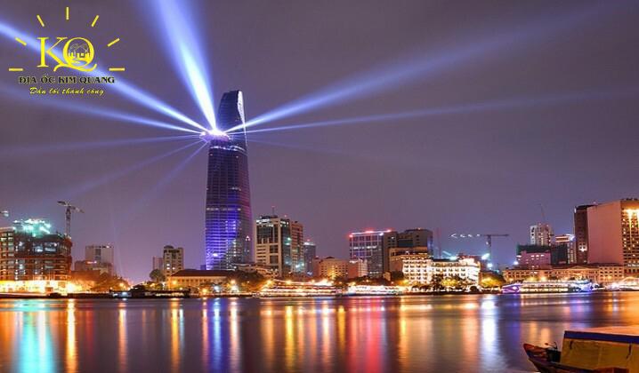 Bitexco Financial Tower về đêm
