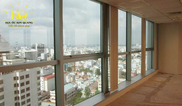 Cho thuê văn phòng hạng A Saigon Trade Center hành lang  Địa Ốc Kim Quang