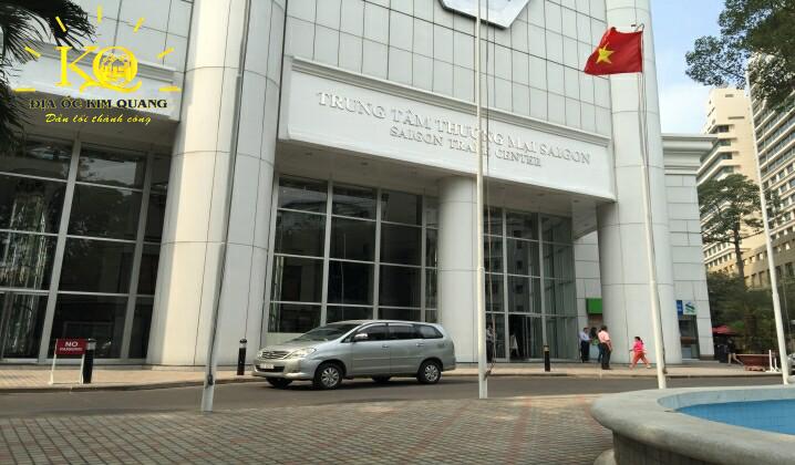 Cho thuê văn phòng hạng A Saigon Trade Center phía trước tòa nhà  Địa Ốc Kim Quang