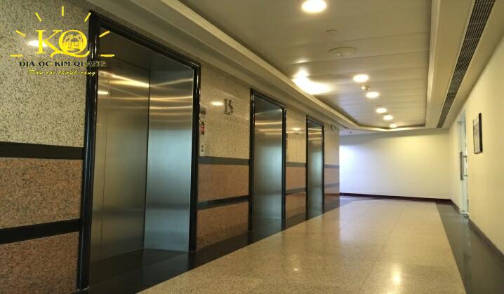 Cho thuê văn phòng hạng A Saigon Trade Center hệ thống thang máy  Địa Ốc Kim Quang
