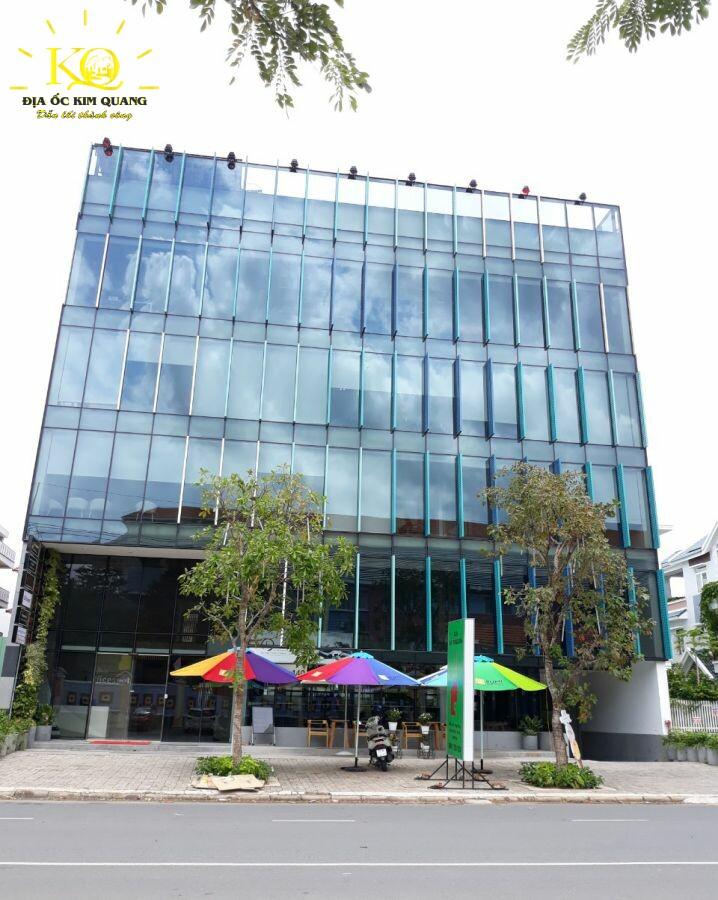Địa ốc Kim Quang Cho thuê văn phòng quận 7 Officespot PMH tổng quan bên ngoài