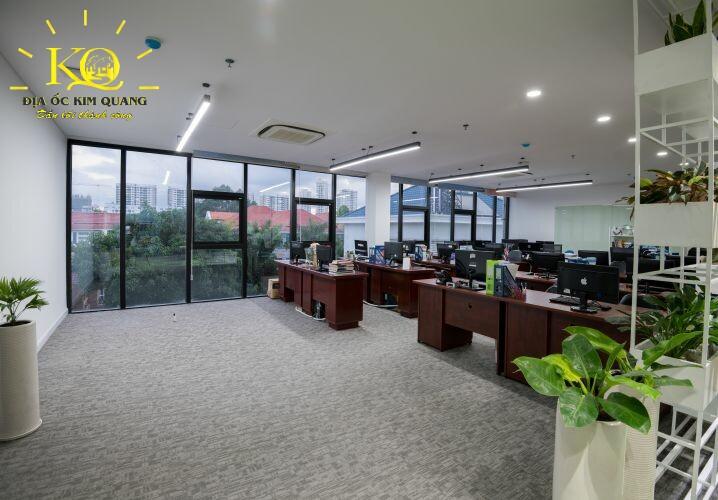Địa ốc Kim Quang Cho thuê văn phòng quận 7 Officespot PMH bên trong