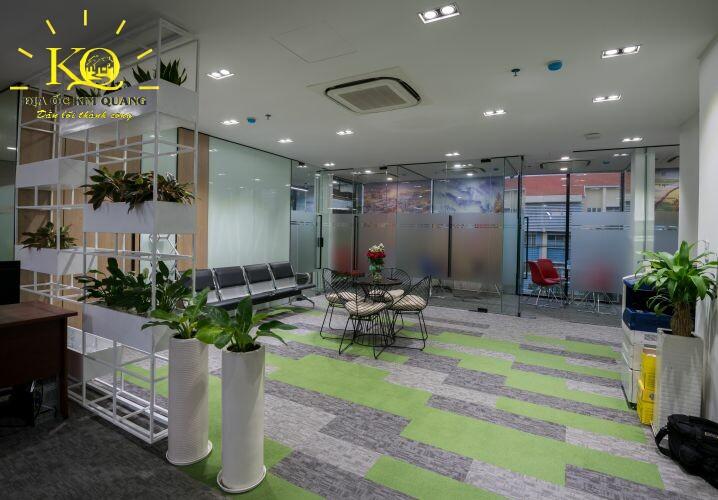 Địa ốc Kim Quang Cho thuê văn phòng quận 7 Officespot PMH không gian