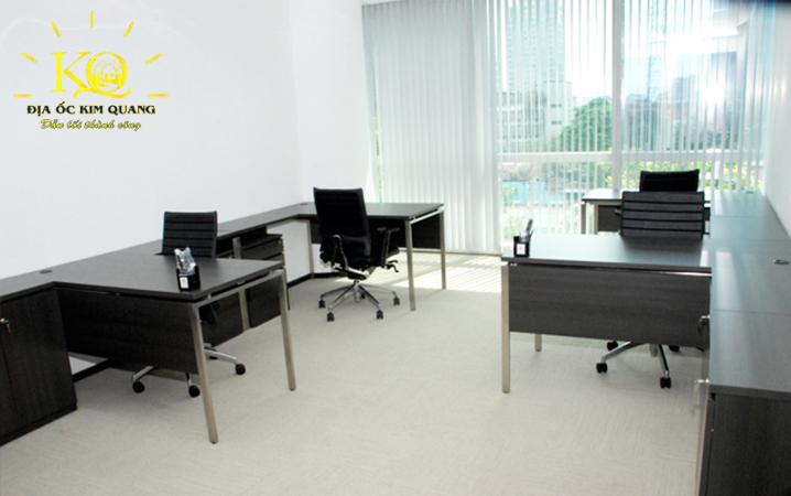 Hình chụp diện tích trống khác tại tòa nhà cho thuê văn phòng quận 3 Centec Tower sạch sẽ