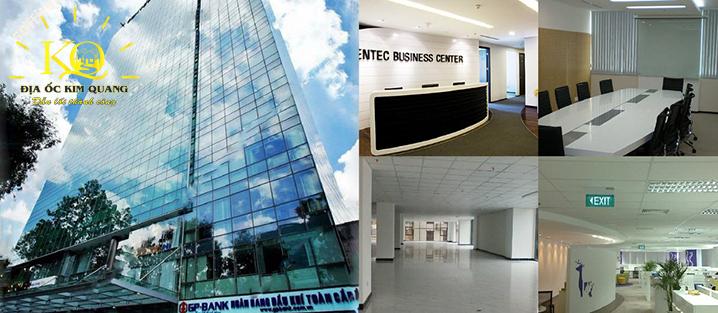 Hình chụp bên trong tòa nhà Centec Business Center