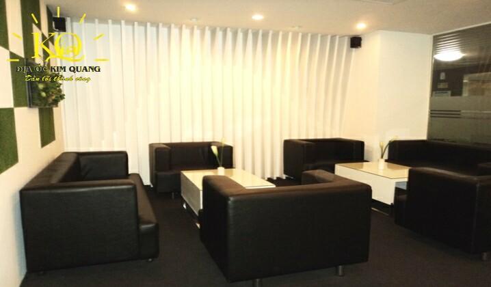 Địa ốc Kim Quang  Khu vực chung tại văn phòng trọn gói Hải Âu Building với không gian thoáng