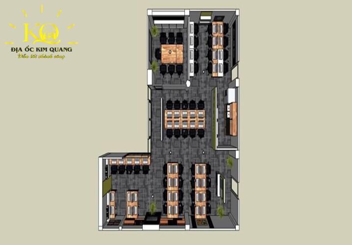 Bản vẽ layout Thiên Hồng Building