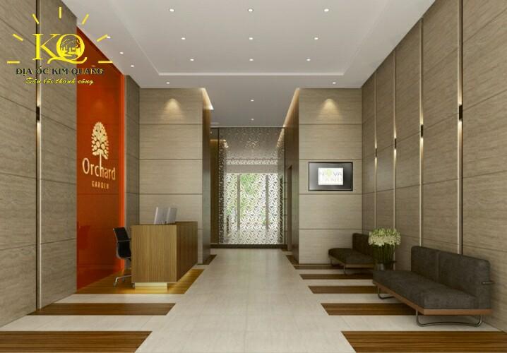 Khu vực lễ tân Officetel Orchard Garden