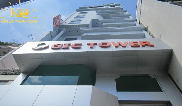 Cho thuê văn phòng quận Bình Thạnh GIC building DBL