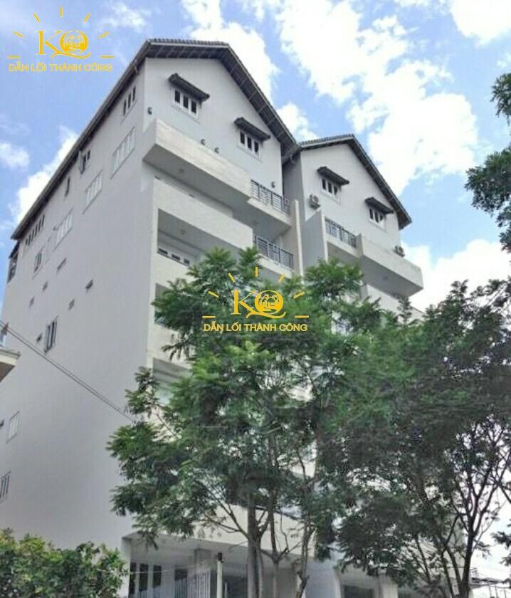 Hình chụp bao quát Xuân Thủy Building.