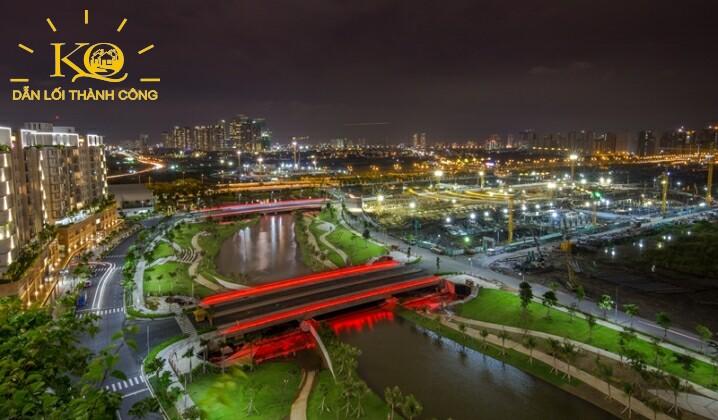 Hình chụp công viên Thaco Sala