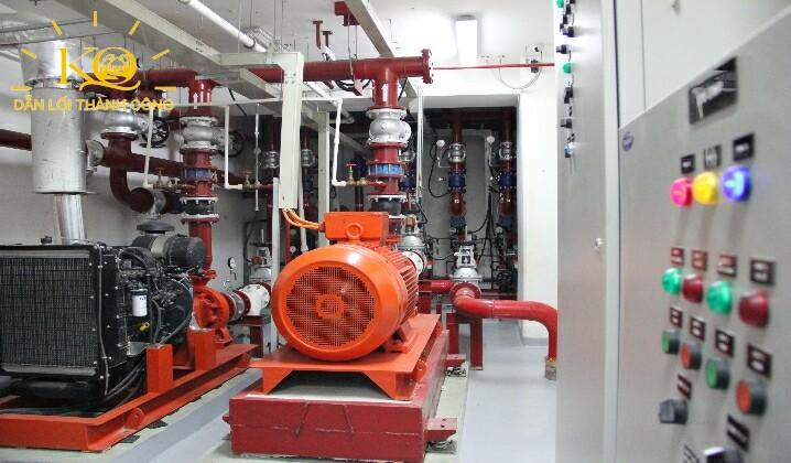 Hình chụp hệ thống điện