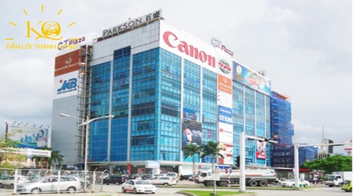 Tòa nhà cho thuê văn phòng quận Tân Bình C.T Plaza